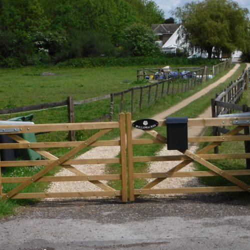 wood gates